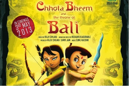 Chhota Bheem and the Throne of Bali 275MB