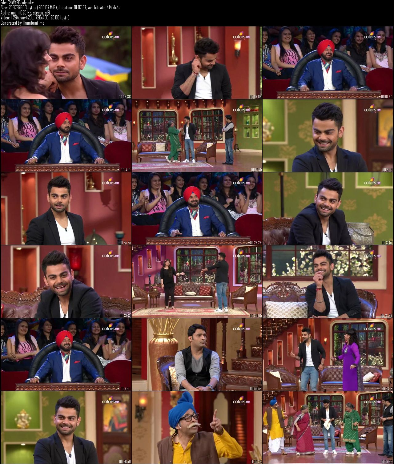 Comedy Nights With Kapil 20th July (2014)