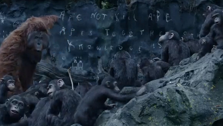 Dawn of the Planet of the Apes 2014