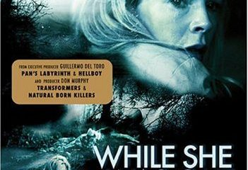 While She Was Out (2008) BRRip 420p 300MB Dual Audio