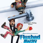 Flushed Away (2006) HDTVRip 480p 300MB Dual Audio